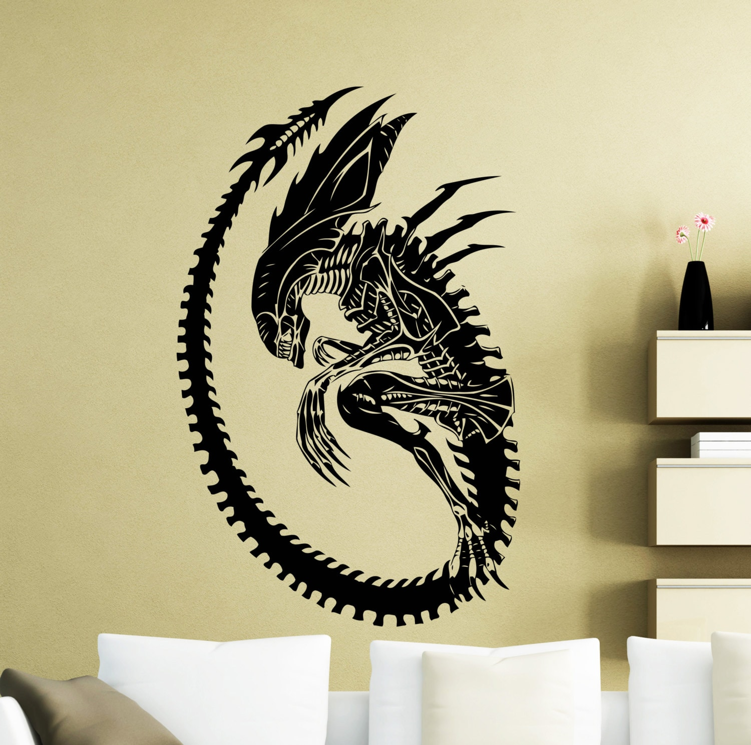 Alien Wall Sticker Alien Movie Vinyl Decal Home Kids Boy Girl