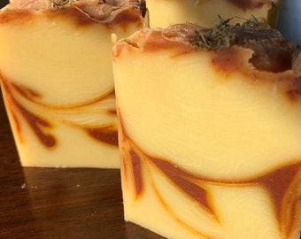 Turmeric Lemongrass Soap