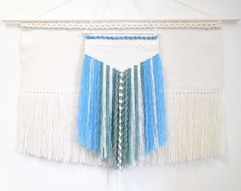 Large woven tapestry wall hanging wall weaving tapestry, wall weaving, handwoven hanging, large macrame wall hanging large wall hanging