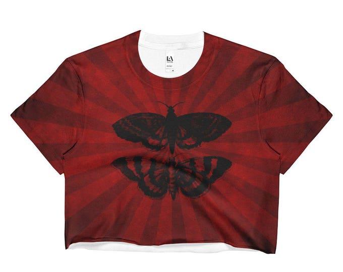 Mothra All-Over Crop