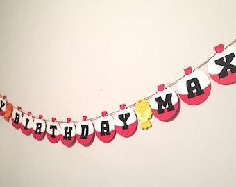 "O""Fish""ally One Happy Birthday Banner"