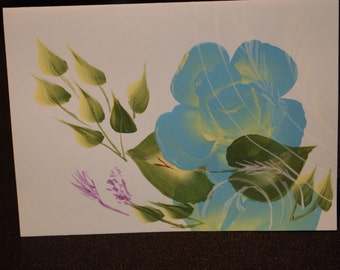 Hand Painted Assorted Note Card Set of 12
