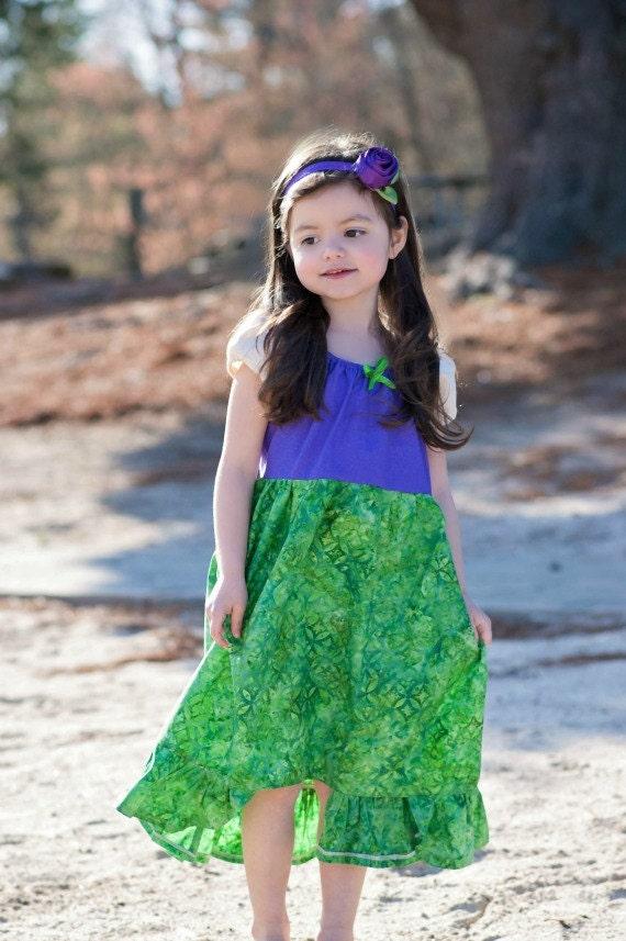Ariel Kleid das Kleid Meerjungfrau Disney inspiriert Kleid