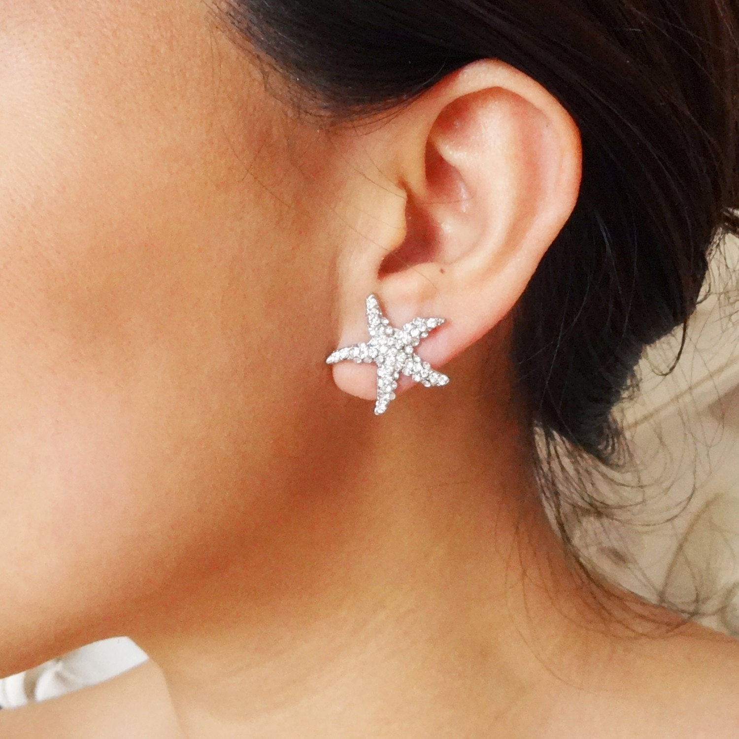 stud starfish gold studs diamonds uk com earrings diamond annoushka love