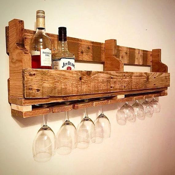reclaimed wood wine rack wine rack pallet style wine rack. Black Bedroom Furniture Sets. Home Design Ideas