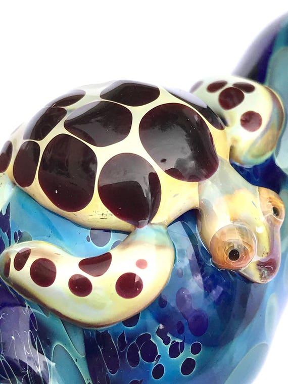 Glass Pipe  Turtle Pod