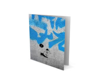 Urban Art Greetings Card – The Kick - Birthday – Anniversary – House Warming  – Sylvo81