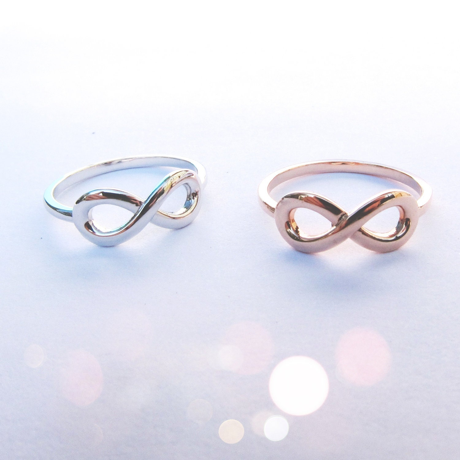 ring brilliant round jewellery gifts rings gold apparel cut white p diamond infinity