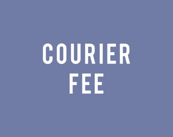 Additional postage charge_Courier