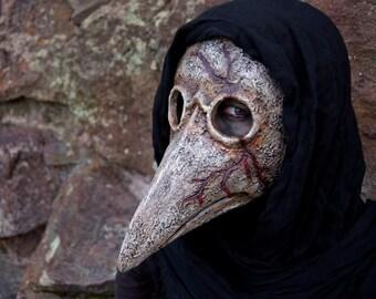 Bleeding Plague Doctor Mask