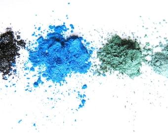 EYECANDY 4 color coordinated mineral eyeshadows. SEA SET