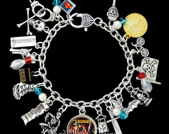 The Goonies Themed Charm Bracelet