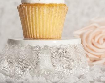 Lace Wedding Cupcake Stand -  707536I0