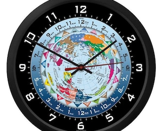 "Trintec 10"" World Time Clock WTC-10"