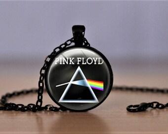 Pink Floyd Pendant Necklace