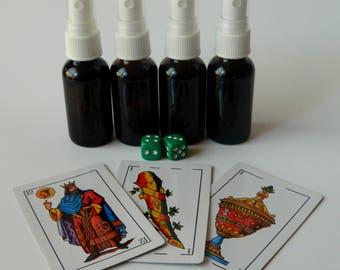 Bay Rum Lucky Hand Rub Spray - 1 oz Glass Spray Bottle