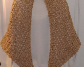 Shawl Wrap Crocheted