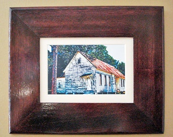 The Old Church -Framed Print -Original Photograph- Wall Decor-Home or Office