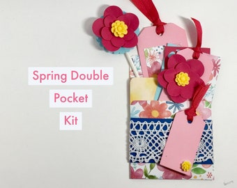 Spring Double Pocket Online class Kit