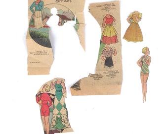 Vintage Boots Paper dolls 1962 Nea inc