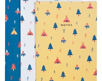 CAMPING Notebook Set