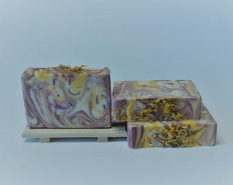 Calendula Sandalwood Orange Artisan Soap