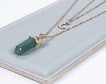 Aventurine Gemstone Necklace
