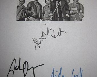 Sing Street Signed Movie Film Script Screenplay X3 Autograph Jack Reynor Maria Doyle Kennedy Aidan Gillen signature Ireland 80s Film