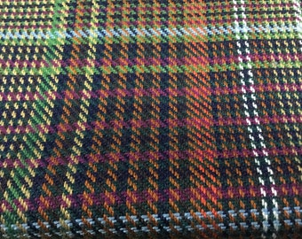 Plaid Apparel Fabric by the yard