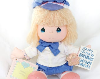 Precious Moments Happy Birthday Doll 1988