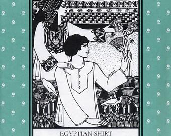 Egyptian Shirt, Folkwear Pattern 104