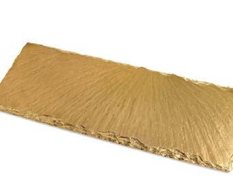 Gold Slate Tray