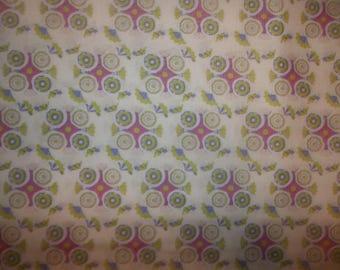 Bohemian- Medallion Cotton Fabric #289