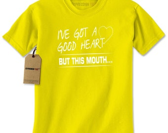 I've Got A Good Heart Mens T-shirt