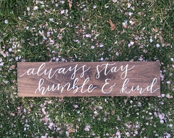Calligraphed Wooden Signs