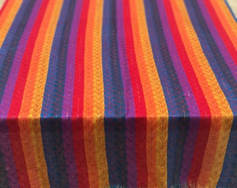 Table Runner Guatemala, Table Scarf, Mexican Textile, Mexican Table Runner, Southwest Table Runner, Rainbow Table Runner. Boho Table Runner,