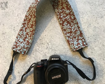 Camera Strap Cover Nikon Cannon Sony DSLR Photography Photographer Gift