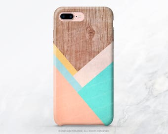 iPhone X Case iPhone 8 Case iPhone 7 Case Wood Chevron iPhone 7 Plus Case iPhone SE Case Tough Samsung S8 Plus Case Galaxy S8 Case I102