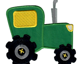 Tractor Iron-On Patch Applique - Kids / Baby