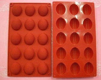 Mold Silicone small ovens 15 / 30 X 17 CM Easter eggs