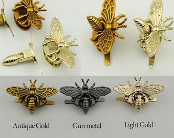10 pieces Vintage bee bag lock purse lock bag hardware  LC001