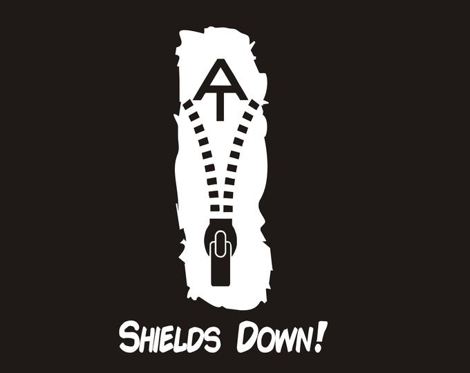 Shields Down AT vinyl decal, Early Riser 71 decal, Early_Riser_71, Shields Down, Shields Down sticker, Appalachian Trail decal, Appalachian