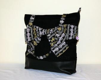 Zipped bow bag