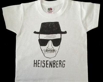 Breaking Bad Heisenberg child/ toddler tshirt