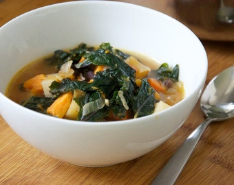 Zero Calorie Vegetable Soup Recipe