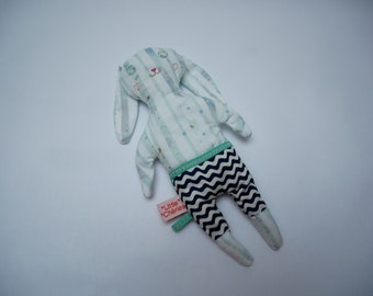 The toy striped sailor