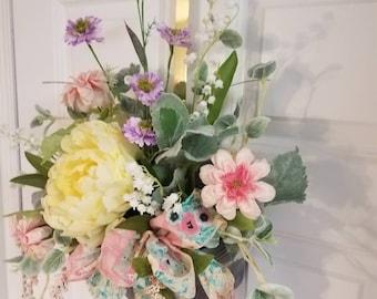 Summer wreath,Spring wreath,front door decor,wall art,spring wreath for front door,front door wreaths,Birthday gift,wreaths for front door