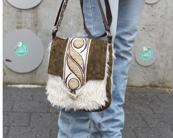 Shoulder bag 70s-style, retro, hippie