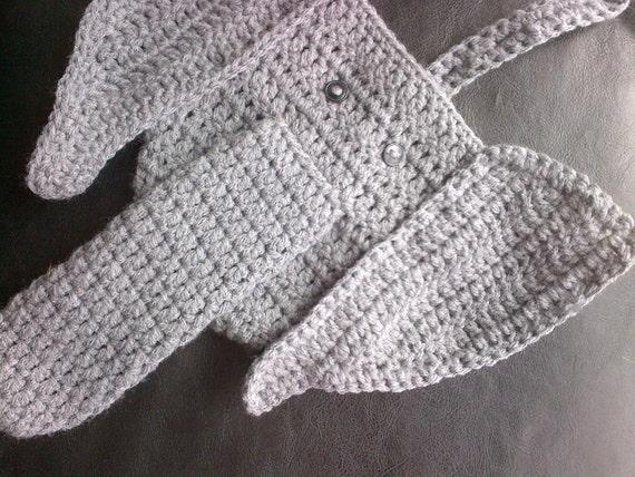 Pattern Only Crochet Elephant Thong Pattern