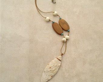 Handmade Arrowhead Pendant Necklace